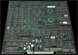 Printed Circuit Board for Super Volley '91.