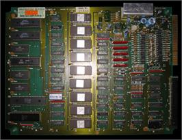 Printed Circuit Board for Taisen Karate Dou.