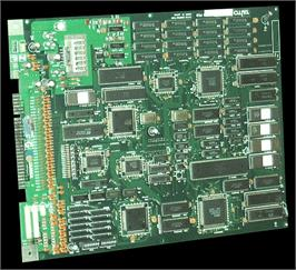 Printed Circuit Board for Taito Cup Finals.