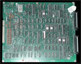 Printed Circuit Board for Tecmo World Cup '90.