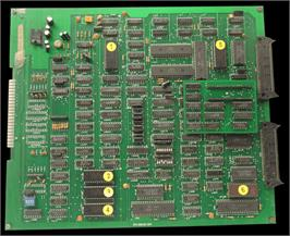 Printed Circuit Board for Tehkan World Cup.