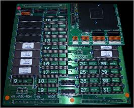 Printed Circuit Board for Tenchi wo Kurau II: Sekiheki no Tatakai.