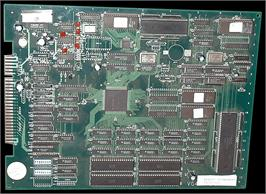Printed Circuit Board for The Karate Tournament.