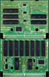 Printed Circuit Board for The King of Fighters '96.