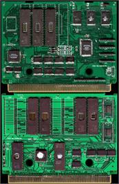 Printed Circuit Board for The King of Fighters '97 Plus.