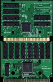 Printed Circuit Board for The King of Fighters 2001.