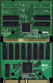 Printed Circuit Board for The King of Fighters 2002.
