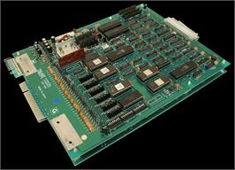 Printed Circuit Board for The Legend of Kage.