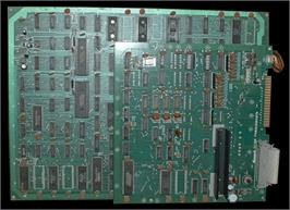 Printed Circuit Board for Time Pilot '84.