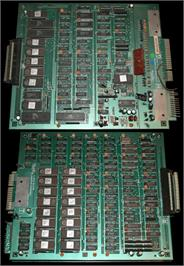 Printed Circuit Board for Tokio / Scramble Formation.