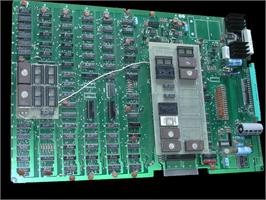 Printed Circuit Board for Triple Draw Poker.