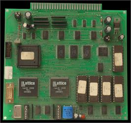 Printed Circuit Board for Triple Star 2000.