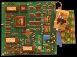 Printed Circuit Board for Video Carnival 1999 / Super Royal Card.