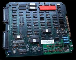 Printed Circuit Board for WWF Superstars.