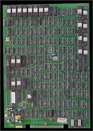 Printed Circuit Board for Worldcup '90.