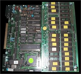 Printed Circuit Board for Wrestle War.