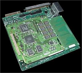 Printed Circuit Board for Xevious 3D/G.