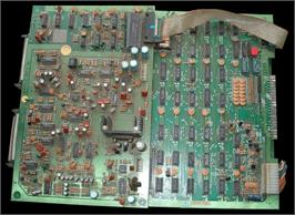 Printed Circuit Board for Zaxxon.
