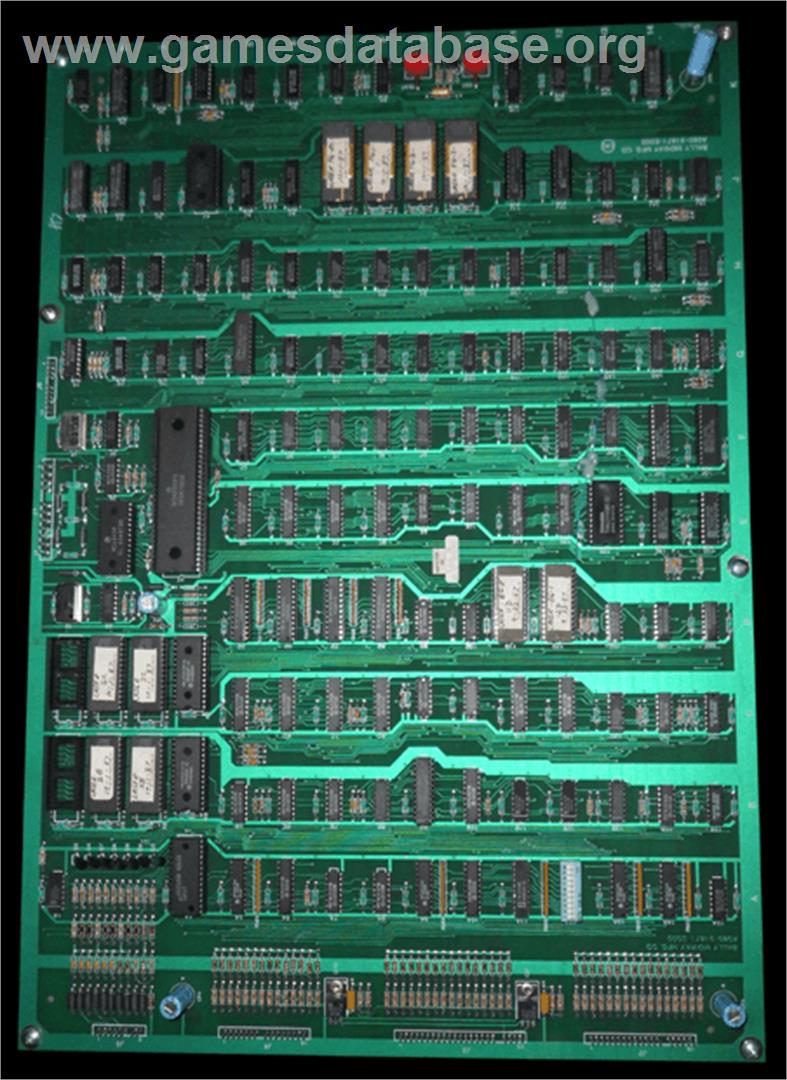 International Team Laser - Arcade - Artwork - PCB