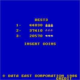 High Score Screen for Darwin 4078.