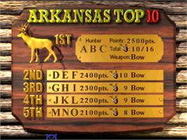 High Score Screen for Deer Hunting USA V4.3.
