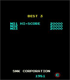 High Score Screen for Fantasy.