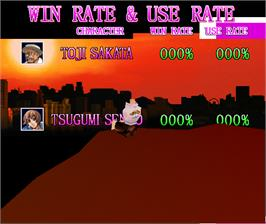 High Score Screen for Fatal Fury: Wild Ambition.