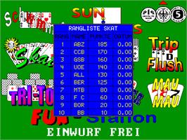 High Score Screen for Fun Station Spielekoffer 9 Spiele.