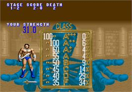 High Score Screen for Golden Axe.