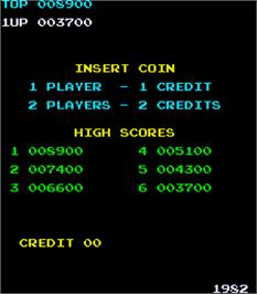High Score Screen for Jackson.