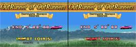 High Score Screen for OutRunners.