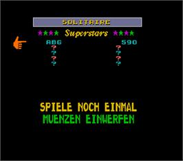 High Score Screen for Super Megatouch IV Turnier Version.