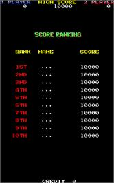 High Score Screen for The Last Day.