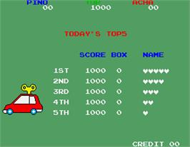 High Score Screen for Toypop.