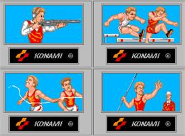 Select Screen for '88 Games.