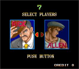 Select Screen for 64th. Street - A Detective Story.