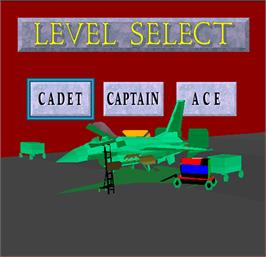 Select Screen for Air Combat.