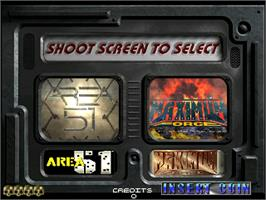 Select Screen for Area 51 / Maximum Force Duo v2.0.