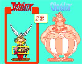Select Screen for Asterix.