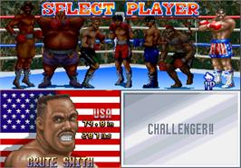 Select Screen for Best Bout Boxing.