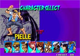 Select Screen for Breakers Revenge.
