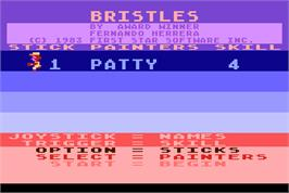Select Screen for Bristles.