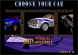 Select Screen for Drift Out '94 - The Hard Order.