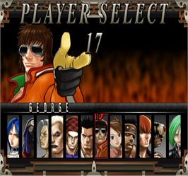 Select Screen for Fighting Layer.