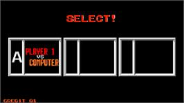 Select Screen for Fighting Soccer.