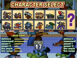 Select Screen for Fortress 2 Blue Arcade.