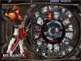 Select Screen for Guilty Gear XX #Reload.