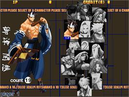 Select Screen for Guilty Gear X.
