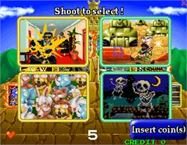 Select Screen for Gun Bullet.