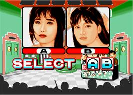 Select Screen for Mahjong Yarunara.